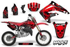 Honda CR85R CR 85 R Dirt Bike Graphic Sticker Kit Decal Wrap MX 03-07 MALICE RED