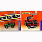 Cliff Hanger X2 Matchbox Small Scale Die-cast Model Toy Cars Buggy Jeep New