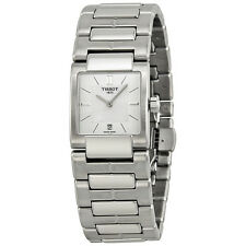 Tissot T2 White Dial Stainless Steel Ladies Watch T0903101111100