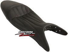 SUZUKI GLADIUS 650 CORBIN GUNFIGHTER SEAT GUN FIGHTER BLACK LEATHER TOP NEW!