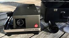LEITZ  Dia-Projektor Pradovit CA 2502mit 1:2,8 85mm u. 1:2,8 150mm, FB u. Koffer