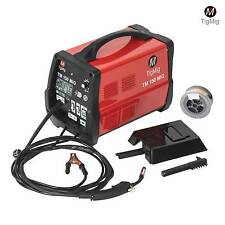 MIG WELDING MACHINE 130 AMP TIGMIG WELDER TIG TM 150 MIG NO GAS + FLUX CORE WIRE