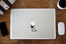 Que lleva Stickman Pegatina Vinilo Para Apple MacBook Aire/Pro Portátil 27.9cm