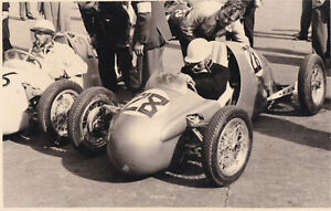 S.MOSS KIEFT NORTON, DAILY EXPRESS TROPHY MEETING SILVERSTONE MAY 1952 PHOTO.