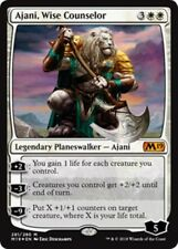 AJANI, WISE COUNSELOR (Foil) M19 Core Set 2019 MTG White Planeswalker Mythic