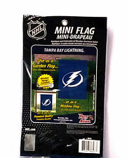 Tampa Bay Lightning GARDEN Window Flag Banner Embroidered Applique Hockey