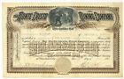 Monte Cristo Mining Company. Stock Certificate. 1893