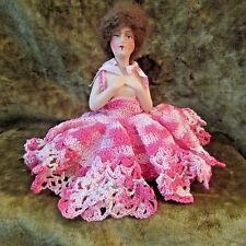 Vintage Half Doll W/Hair Pin Cushion dated 1926/NICE!!