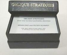 Brian Eno / Peter Schmidt - Oblique Strategies Cards - New