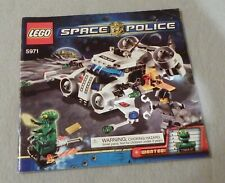 LEGO--SPACE POLICE--Instruction Manual Only #5971 Gold Heist
