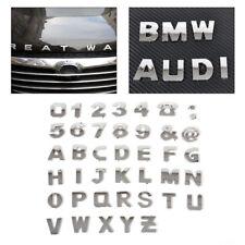 40x Car 3D Chrome Alphabet letter Number Symbol Emblem Badge Decals stickers DIY