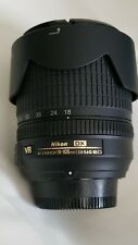 Nikon 18-105mm f/3.5-5.6G ED VR AF-S DX Nikkor Autofocus Lens 100%Tested working