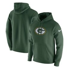 Green Bay Packers Nike NFL XXL Essential Logo Cotton Blend Pullover Hoodie