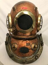 "Maritime ""classic"" SIEBE GORMAN & CO diving helmet - 360' HD VIDEO"