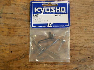 RM-7 Linkage Set - Kyosho Rampage Thunderbird Rampage ZR-1 Vette Outlaw Rampage