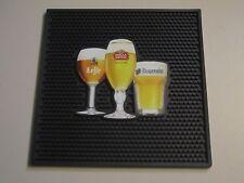 Stella Artois Hoegaarden Leffe Best of Belgium Beer Rubber Bar Spill Mat Matt
