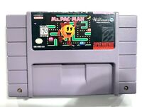 Ms. Pac-Man - SNES Super Nintendo Game Tested - Working - Authentic!