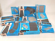 X-60965Carrera 132 Universal verschiedene Bahnteile mit Gebrauchsspuren,