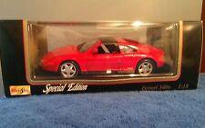 Ferrari 348TS  Maisto 1:18 Scale Diecast -  Red