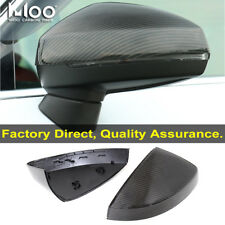 3K Carbon Fiber Mirror Cover For Audi A3 S3 RS3 Without Assist Light 2014+ OEM