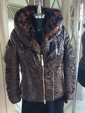 Ladies Sportalm Jacket Aviator Style Size Small RRP £450