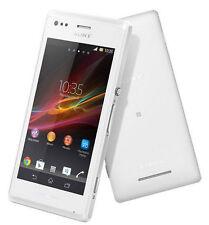 New Unlocked Original Sony Xperia M C1905 4GB Smartphone 5MP WIFI White