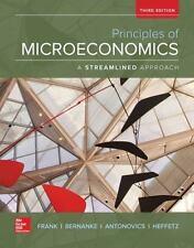 Principles of Microeconomics, A Streamlined Approach by Frank, Robert, Bernanke