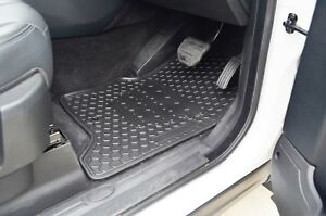Rugged Rubber Floor Mats Tailored Heavy Duty for Land Rover Discovery 4 09-16