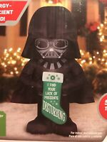 Star Wars Darth Vader Christmas Holiday LED Outdoor 5 ft Airblown Inflatable