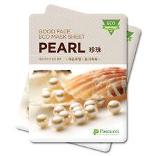 Korean Essence Eco Mask Sheet PEARL Moisture Skin Care Facial Pack 6 PCS