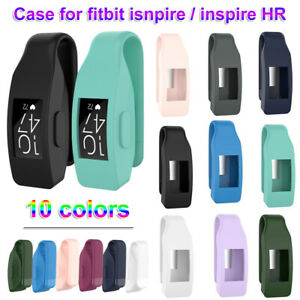 Silicone Cover Holder Metal Clip Watch Case For Fitbit Inspire / Inspire HR