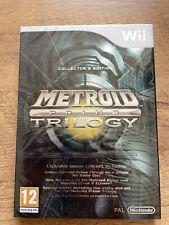New & Nintendo Sealed Metroid Prime Trilogy Nintendo WII Video Game UK Release
