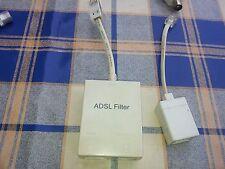 ADSL Micro Filtro BT Socket di qualità e connettore accoppiatore - 3 elementi come in foto