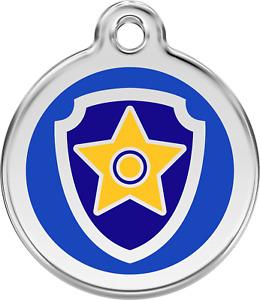 Paw Patrol | ID Tag - Free Shipping & Engraving// Identification Name Dog Bag