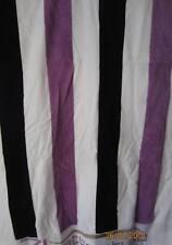 Strandlaken Weiss/Lila gestreift ,90 x 170 cm 100% Baumwolle Bade Handtuch* NEU*