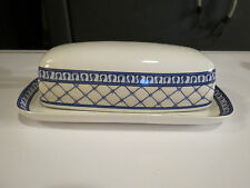 American Atelier Le VerDure China Stoneware 5021 Butter Dish Cover/Platter NEW