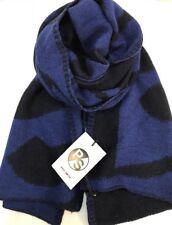 Paul Smith Men Scarf PS Knit Navy 100% Wool