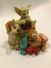 """Whimsical World of Pocket Dragons by RM- """"Sticking Together"""" 1997"""