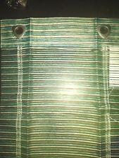 Raffrollo   Gardine Store Scheibengardine Breite 45cm Kletthaken Türkis
