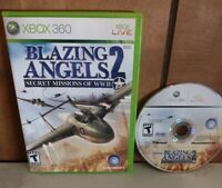 Blazing Angels 2: Secret Missions of WWII Microsoft Xbox 360 no manual Tested