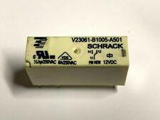 Relais, 12VDC, Schaltkontakt 8A, 250VAC, VDE, 652R, Schrack,V23061B1005A501, PCB