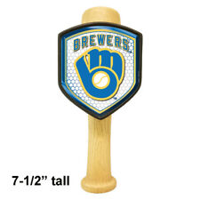 Milwaukee Brewers themed Baseball Bat beer tap handle