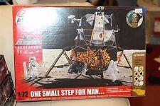 Airfix A50106 1/72 Lunar Module, Moon Diorama, Astronauts, Paints & Glue