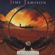 Jimi Jamison-Never Too Late CD nuevo
