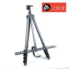 Jakar Adjustable Field Easel Telescopic Artists 120cm Canvas Holder + Carry Bag