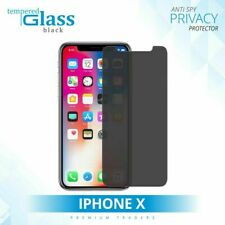 ANTI SPY PRIVACY TEMPERED GLASS FILM SCREEN PROTECTOR FOR APPLE iPHONE X 2018