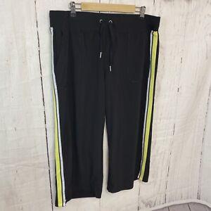 Calvin Klein Women's Size Plus  1X  Pull Up Lounge Sweat Pants Black