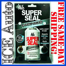 3-DAY SALE!! MRL-3 A/C PRO SUPER SEAL | A/C Leak Sealer Kit with CHARGING HOSE