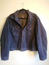 Vintage Levi's Blanket Lined Blue Denim Trucker Jacket Size Large L Made In USA
