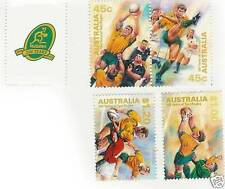AUSTRALIA 100 YEARS OF TEST RUGBY 1999 RUGBY STAMP